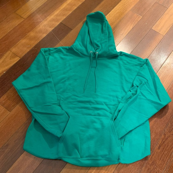 Hanes Other - BRAND NEW! Size L Kelly Green Hoodie